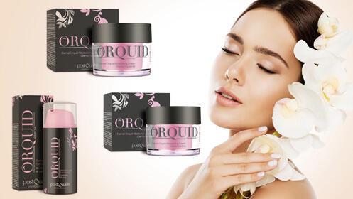 Tratamiento facial Orquídea: crema, crema de noche o contorno