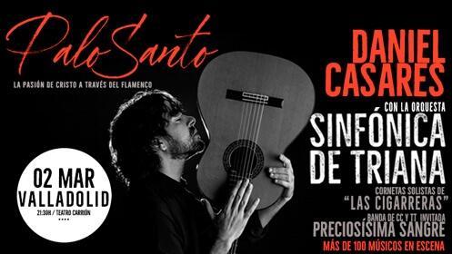 'Palo Santo' flamenco y Semana Santa en el Teatro Carrión