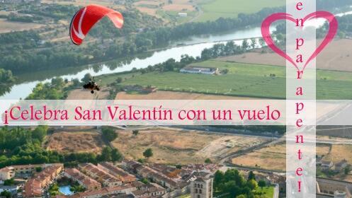❤️ Regala la experiencia del parapente por San Valentín