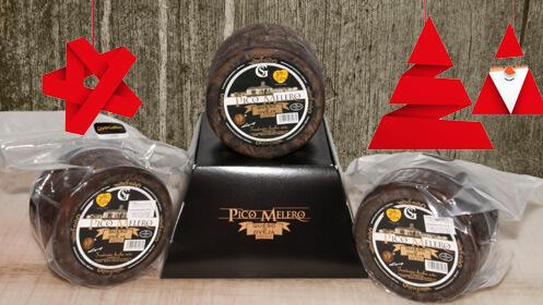 Queso Pico Melero en Navidad, cuñas, entero o crema