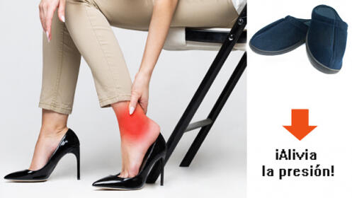 Zapatillas de andar por casa antifatiga