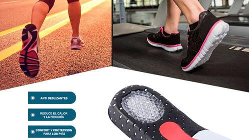 Plantillas Comfort, protección para los pies por 5,95€