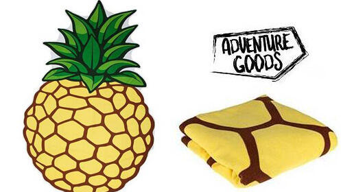 Toalla de playa piña Adventure Goods