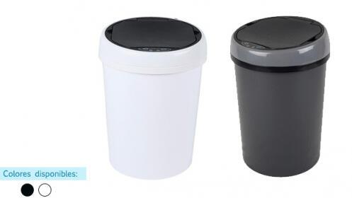 Papelera de 9 litros con sensor de apertura