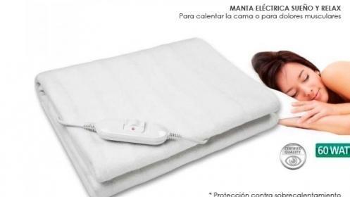 Manta eléctrica sueño y relax