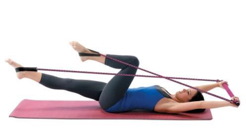 Estudio de pilates portátil + DVD con ejercicios