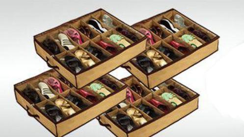 Pack de 4 organizadores de zapatos