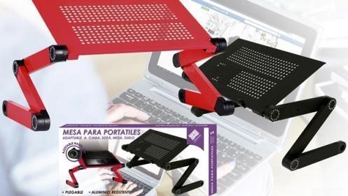 Mesa plegable para el portátil