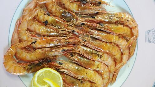 Lujoso menú para dos en La Rosada