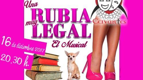 Musical Una rubia muy legal en el Teatro Cervantes