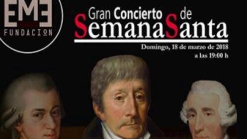 Gran concierto de Semana Santa en el Teatro Ortega