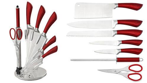 Completo set de cuchillos de 8 piezas