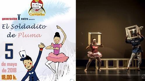 'El Soldadito de Pluma' en el Teatro Cervantes