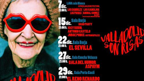Vive la primera edición del festival 'Valladolid Sonrisas'