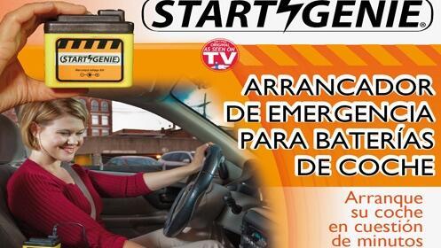 Start Genie, arrancador de baterías de coche en OFERTA