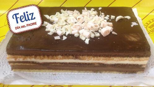 Celebra el Día del Padre con esta tarta de 3 chocolates