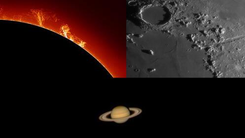 El universo a tu alcance, descúbrelo en el astronómico de Tiedra