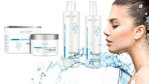 Peeling, leche limpiadora y tónico para un rostro resplandeciente