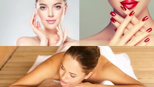 Tres tratamientos con un -75%: masaje, manipedi y facial