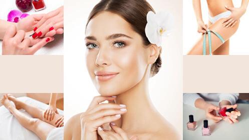 Especial belleza: facial, manicura y vendas frías