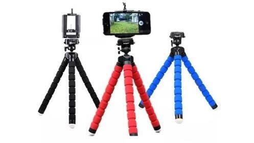 Mini trípode para móvil o cámara digital