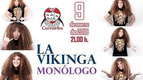 Monólogo 'La Vikinga' en el Teatro Cervantes
