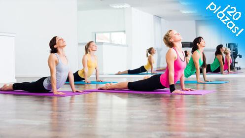 20 plazas para disfrutar de tres meses de yoga por 59,90€