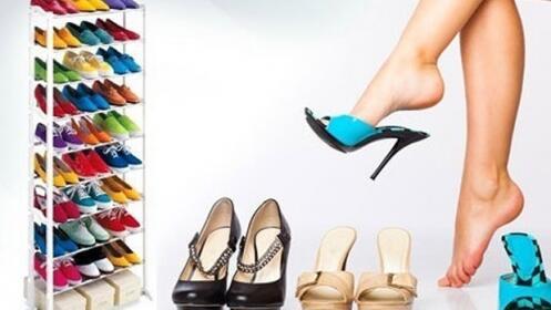 Zapatero Shoe Rack para 30 pares